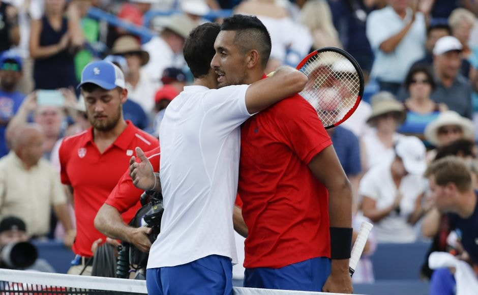 Neither player had reached an ATP Masters title match until this week but Grigor Dimitrov came out triumphant. AP