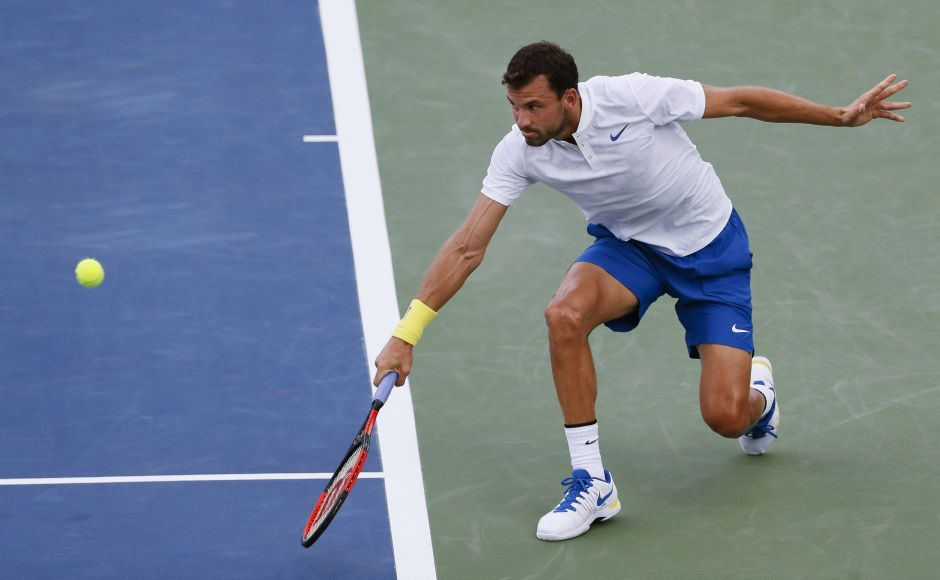 Grigor Dimitrov gave Nick Kyrgios only two break chances and the Australian failed to convert either during the 1-hour, 25-minute men's singles final. AP