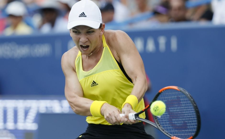Simona Halep brought a lot of momentum into the final and hadn't lost a set all week until Sunday, when she was never in the match. AP