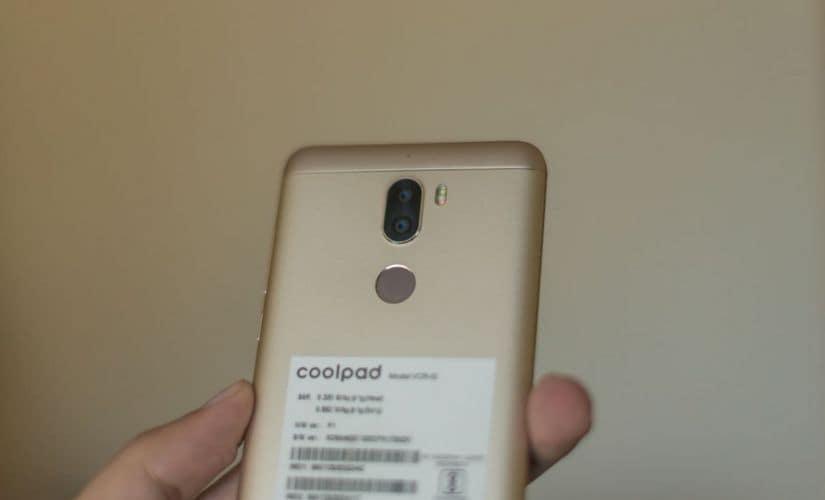 CoolPad CoolPlay 6 dual rear cameras