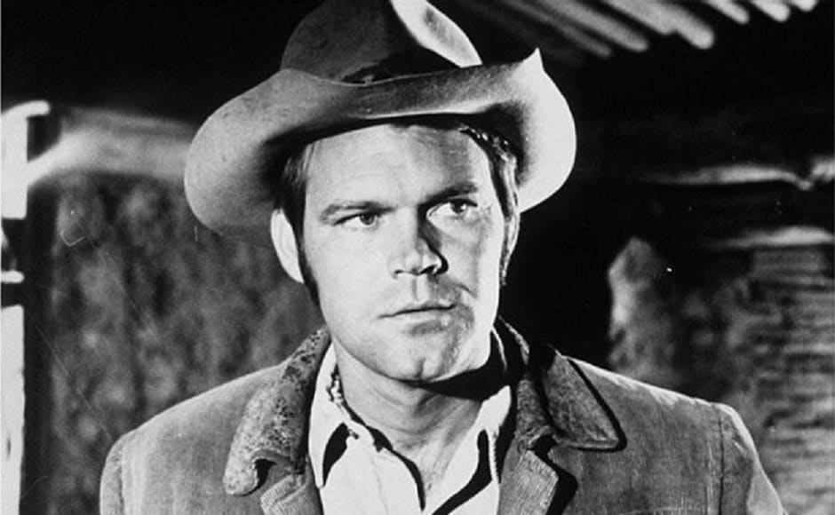 Glen played La Boeuf in the 1969 release of True Grit. Image from Twitter