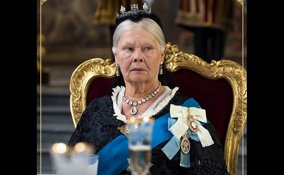 Judi Dench as Queen Victoria. Image from Twitter