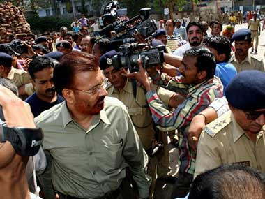 File image of DG Vanzara. AFP