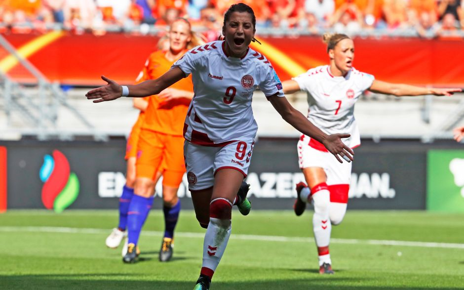Underdogs Denmark took the lead through a Nadia Nadim penalty after just five minutes of the final. Reuters