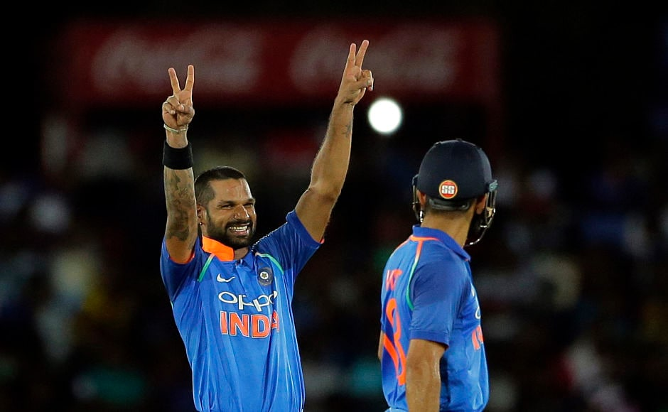 Shikhar Dhawan slams ton, Axar Patel marks successful comeback as India pile on Sri Lanka's agony