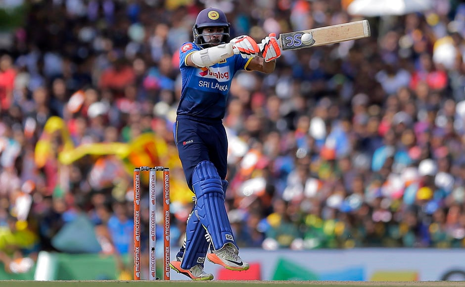 Niroshan Dickwella provided an ideal platform for Sri Lanka as he slammed 64 runs off 74 balls. AP