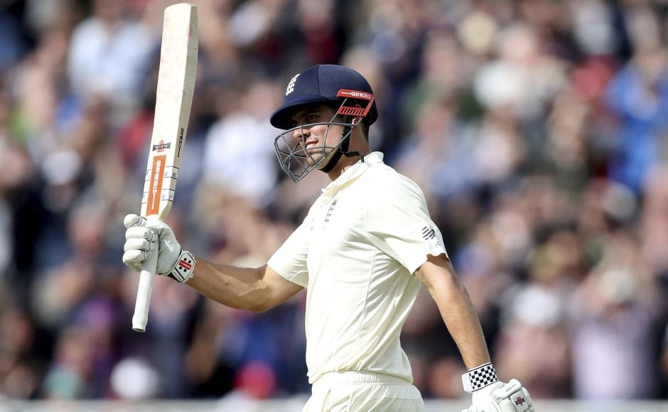 Alastair Cook's double-century leads England to strong position on Day 2 of Edgbaston day-night Test