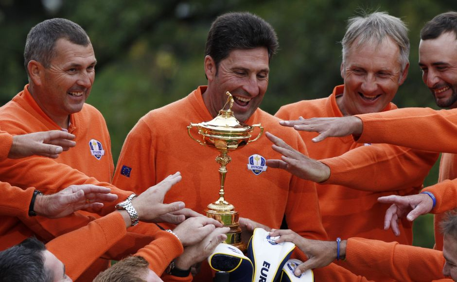 The Laureus World Team of the Year Award was presented to the European Ryder Cup Team after their thrilling golf victory against the United States at Medinah. Reuters
