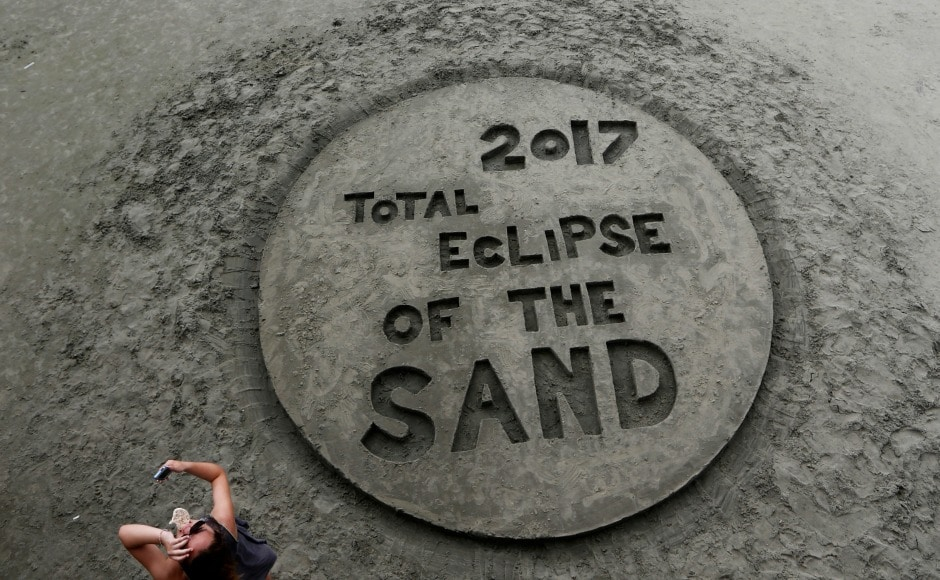 South Carolina basked in the glory of the eclipse and celebrated by hosting a party 'Get Eclipsed on IoP' at the Isle of Palms. AP