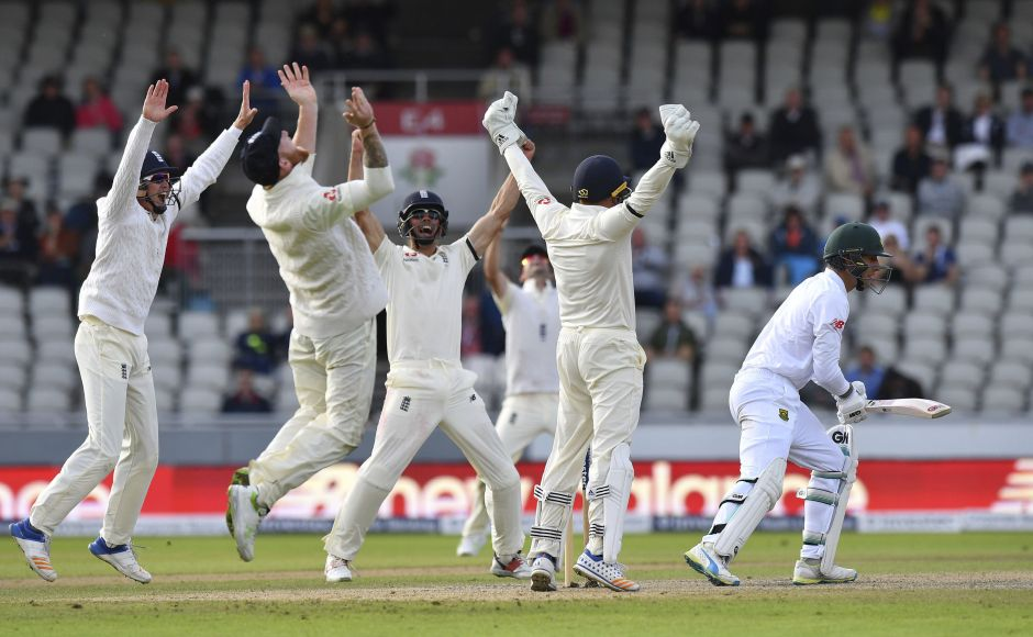 By claiming the final two wickets of Mornel Morkel and Duanne Olivier in successive balls, Moeen Ali sealed England's second successive series win over South Africa. AP