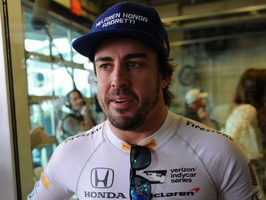 File photo of Fernando Alonso. Reuters