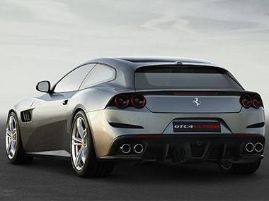 A Ferrari GTC4Lusso
