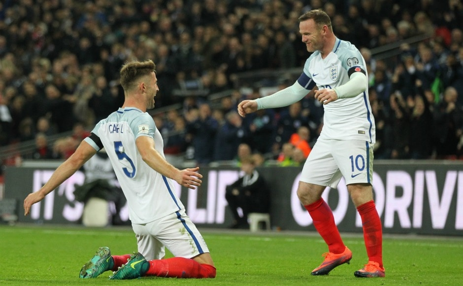 From being the youngest debutant to the highest goal-scorer, top moments of Wayne Rooney's England career