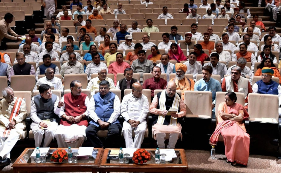 The Bharatiya Janta Party (BJP) held a parliamentary board meeting on Tuesday where party president Amit Shah expressed his displeasure over the absence of BJP's members of Parliament in Rajya Sabha. PTI