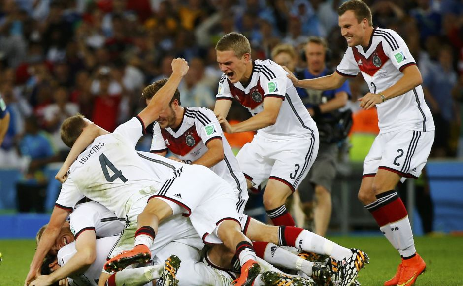 The Germany football team won the Laureus World Team of the Year Award following their historic World Cup victory in 2014 when they became the first European team to win the FIFA World Cup in South America. Reuters