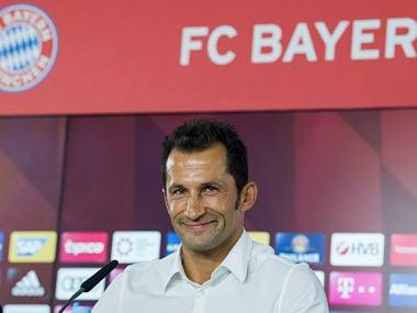 Bayern Munich named former Bosnian international Hasan Salihamidzic as their new sporting director. AP