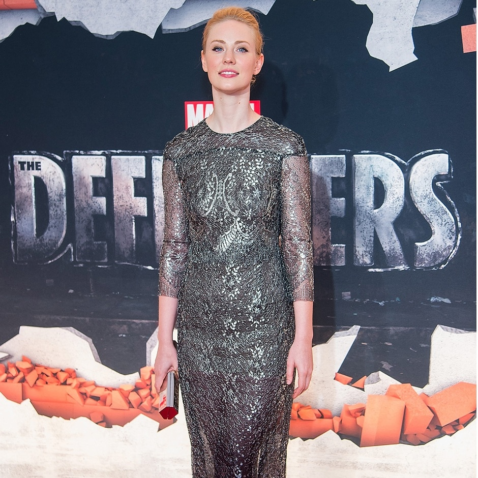 NEW YORK, NY - 31 JULY: Actress Deborah Ann Woll attends the 'Marvel's The Defenders' New York premiere at Tribeca Performing Arts Center on 31 July, 2017 in New York City. (Photo by Michael Stewart/Getty Images)