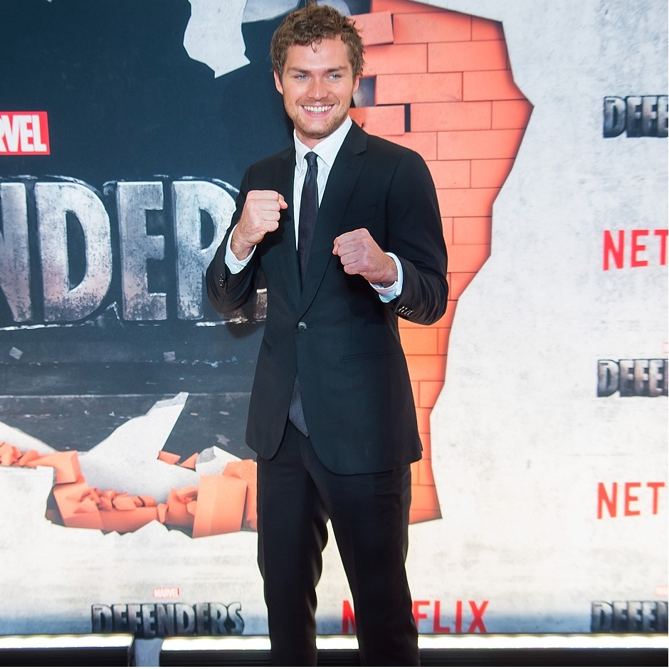 NEW YORK, NY - 31 JULY: Actor Finn Jones attends the 'Marvel's The Defenders' New York premiere at Tribeca Performing Arts Center on 31 July, 2017 in New York City. (Photo by Michael Stewart/Getty Images)