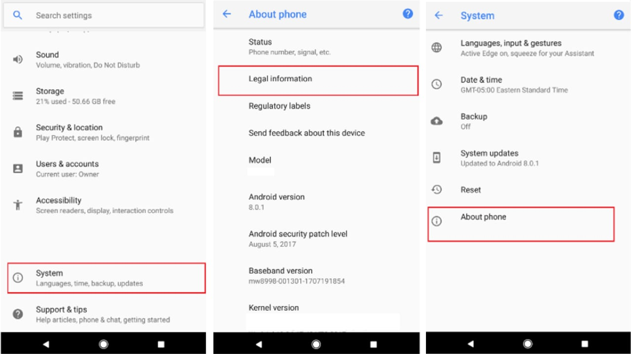 The FCC filing reveals more details about the Pixel 2