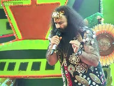 A file image of Dera chief Gurmeet Ram Rahim Singh. Screenshot