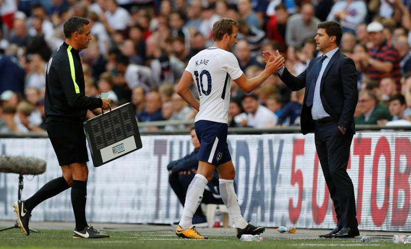 Will manager Mauricio Pochettino and main man Harry Kane be able to improve on their second-place finish in the upcoming Premier League season? Reuters