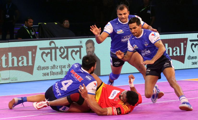 Haryana Stelers' Surender Nada and Mohit Chhillar have been the pillars of their success this season. PKL