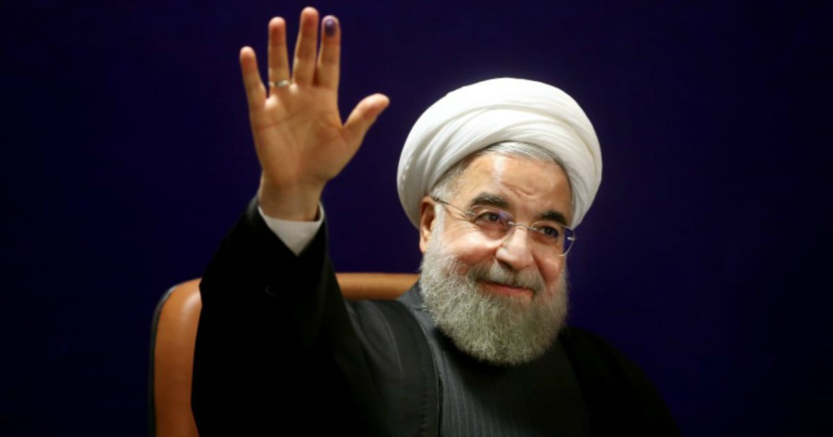 Iran president Hassan Rouhani arrives in Hyderabad on three-day India visit