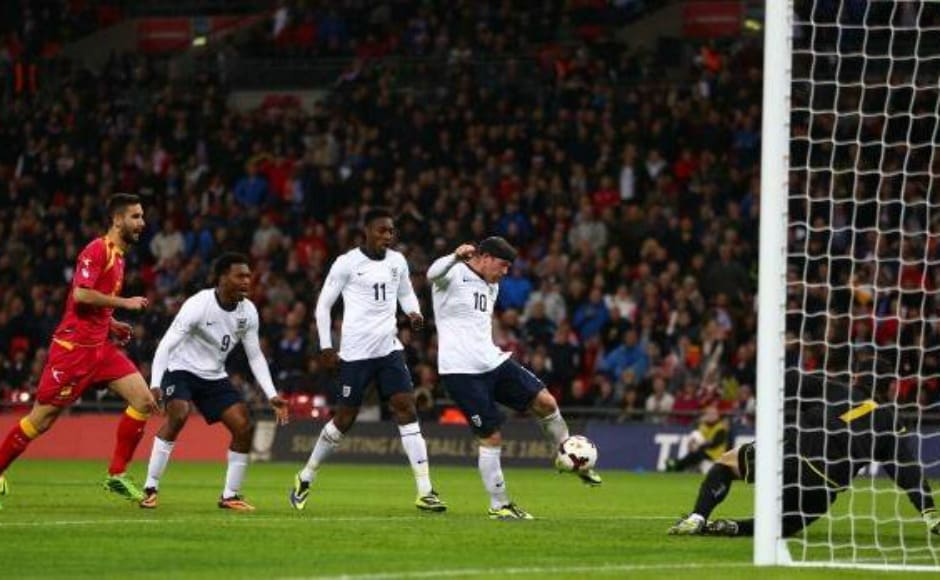 In 2013, Wayne Rooney opened the scoring against Montenegro, his 28th competitive goal, to become England's best competitive goal-scorer at the time, surpassing Michael Owen's tally. Reuters