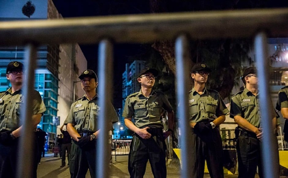 The activists are convicted of unlawful assembly after they stormed government property in June 2014 which led to 79-day sit-in of major roads. Getty Images