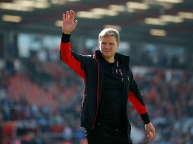 AFC Bournemouth's manager Eddie Howe says he is not under pressure. Reuters