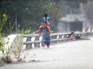Emergency services are working around the clock to help residents of Houston and nearby areas. AP