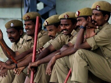 Representational image of Hyderabad police. Reuters