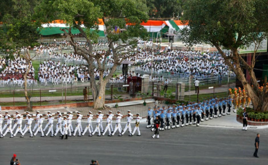 Ahead of Independence Day on Tuesday, security arrangements have been heightened around the national capital this week. AP
