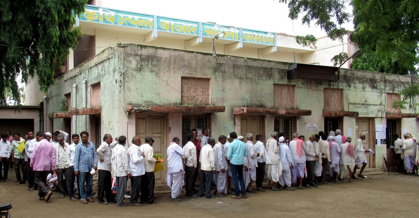 Of the 3.7 million farmers in the state who are eligible for the loan waiver, only 34,410 have received the stopgap Rs. 10,000 – that too after standing in long lines for days.