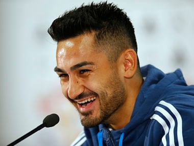 File image of Manchester City player Ilkay Guendogan. Reuters