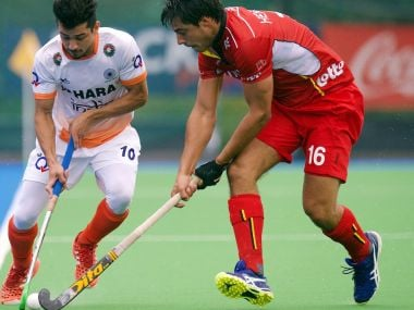 India lost their match agains Belgium, as hosts edge with 1-0 win. Twitter/@TheHockeyIndia