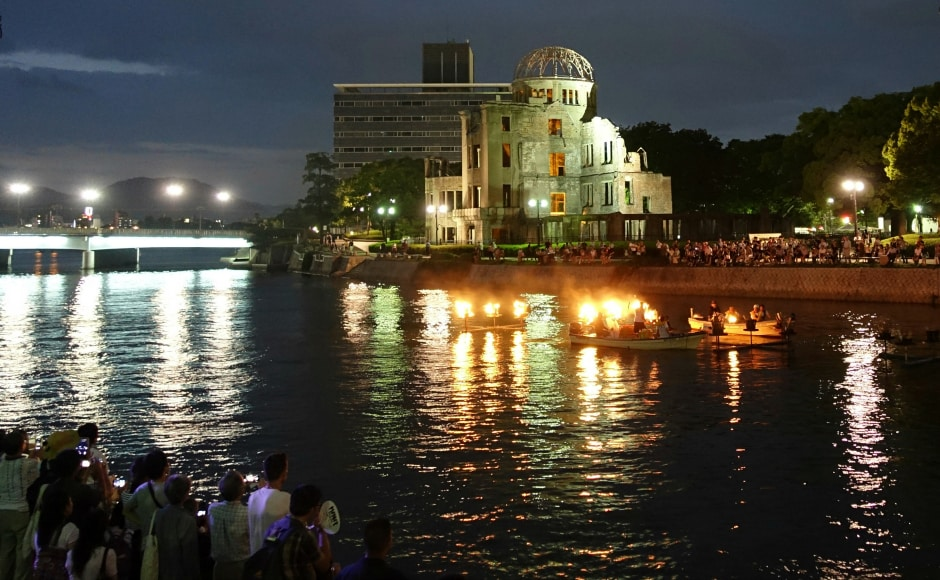 Japanese officials have criticised the UN Nuclear Weapon Ban Treaty as deepening a divide between countries with and without nuclear arms. None of the nine countries that possess nuclear weapons took part in the negotiations or vote on the treaty. AP