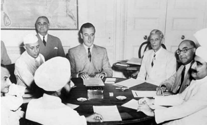 Lord Mountbatten decided on the Partition of the Subcontinent on 3 June 1947. Wikimedia Commons