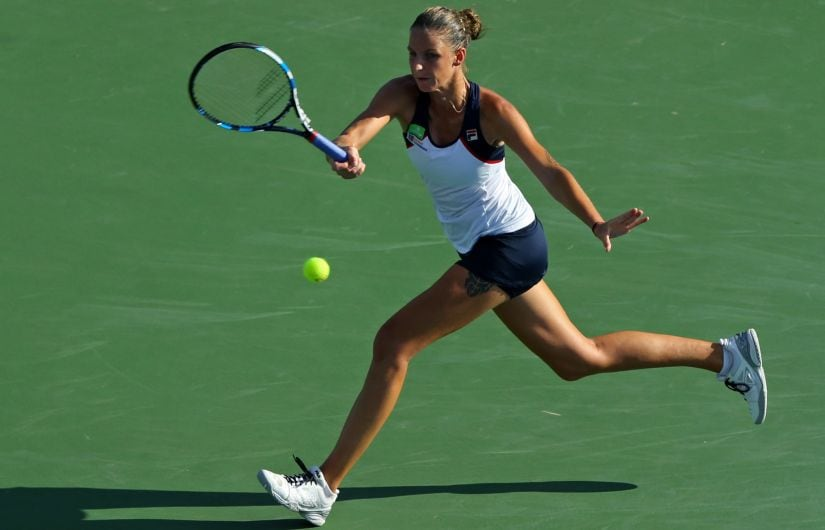 Karolina Pliskova is the top seed and is defending runner-up points from 2016, Reuters