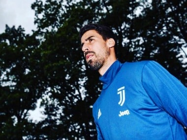 German Sami Khedira plays for Juventus. Image Courtesy: Twitter @SamiKhedira