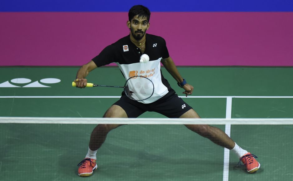 Kidambi Srikanth was on a 13-match winning streak and had beaten Son Wan Ho in the previous two occasions. AFP