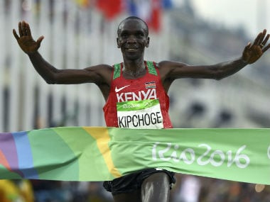 File image of Eliud Kipchoge. Reuters