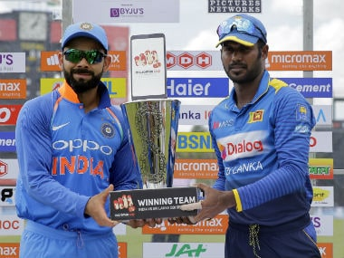 Live India vs Srilanka, 2nd ODI in Pallekele, cricket score and updates: Mendis, Mathews trapped lbw off googlies
