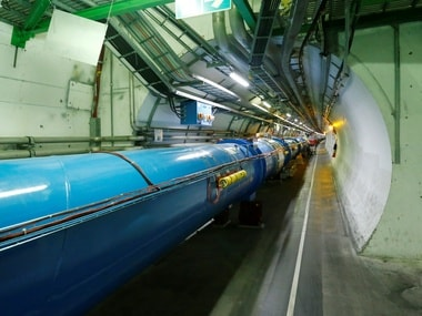 The Large Hadron Collider (LHC) . Reuters