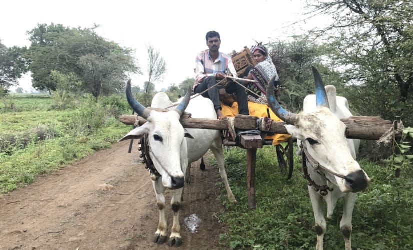 Labourers are already migrating to nearby cities in search of labour. Image courtesy: Bhakti Tambe