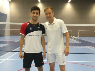 Lakshya Sen is ranked No 2 in the world in the juniors. Twitter/@virenrasquinha