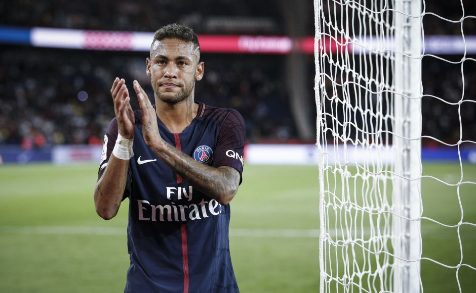 Neymar milked the applause with even Toulouse's players lining up to shake his hand. After all, it was a night where Neymar was involved in everything. AP