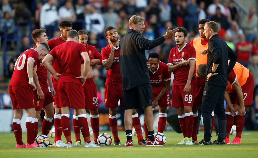Liverpool manager Juergen Klopp will hopefully have a squad strong enough to cope with Premier League as well as Champions League football. Reuters