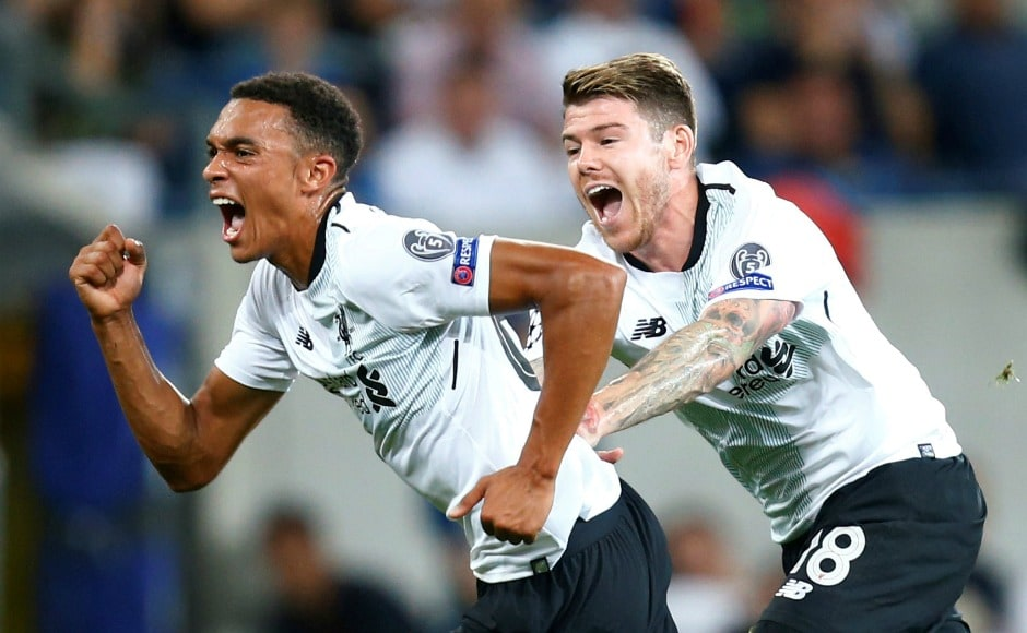 Liverpool survived an early penalty scare, to see their 18-year old defender Trent Alexander-Arnold score a sensational free kick to give the Reds a breakthrough. James Milner also scored, helping them to win 2-1. Reuters