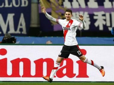 File image of Lucas Alario. Reuters